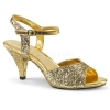 BELLE - 309G Gold with Glitter